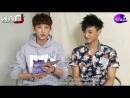 [РУСС.САБ] 130830 EXO Tao (MC-Chanyeol) @ The Star Interview